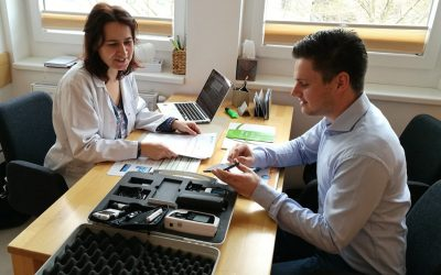 Telemonitoring Testbetrieb: docsy trifft Simone