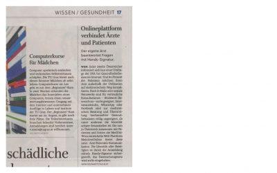 Die Salzburger Nachrichten berichten