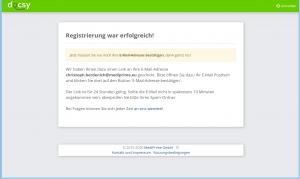Zuweiser - Registrierung Schritt 3