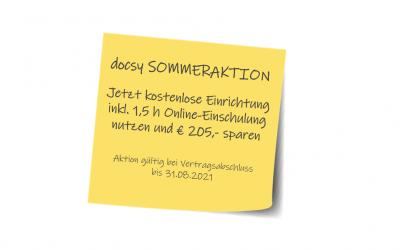 +++ Sommeraktion 2021: Kostenlose Online-Einschulung im Wert von € 205,00 +++